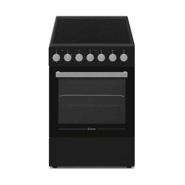 Pose libre Electrique, table de cuisson Vitrocéramique, Noir, 4 zones
