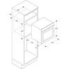 CUPTOARE incorporabile FCL614/6AV