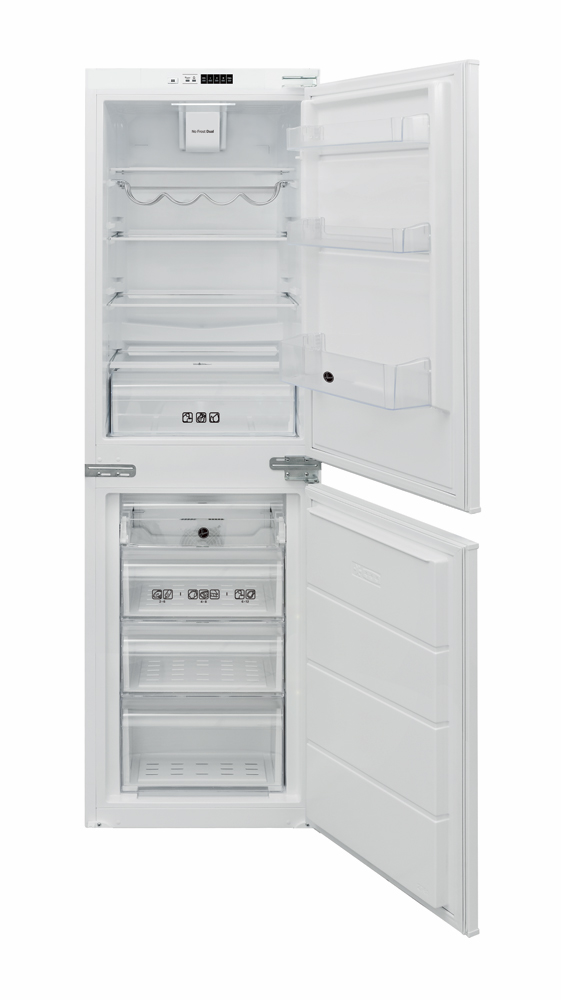 BHBF 172UK T Fridge Freezer with 233L Capacity and A+ Energy Rating in White