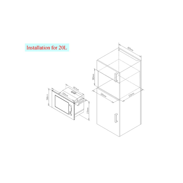 Mikrodalga fırınlar HMB20GDFX