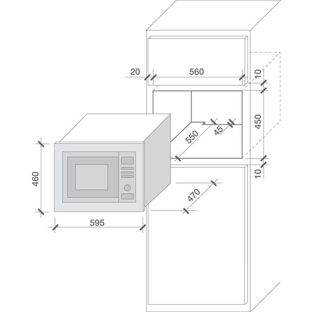 Microwaves HMG 280 X