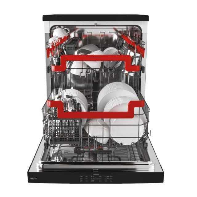 Dishwashers HDPN 2D520PB-80