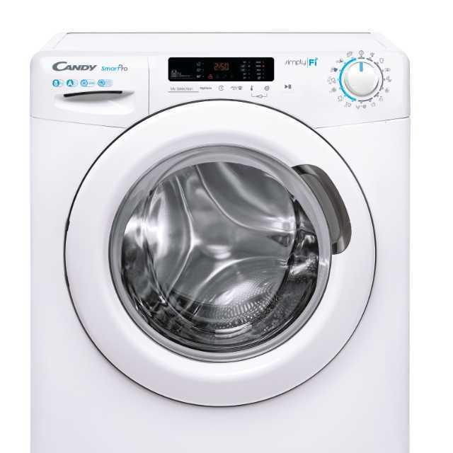 Iš priekio įkraunama skalbimo mašina CO 1282D3-S