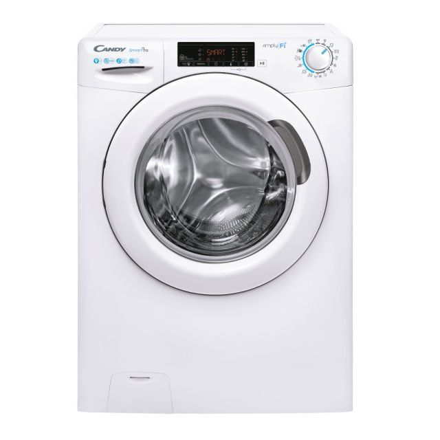 Iš priekio įkraunama skalbimo mašina CSO 1295TE-S