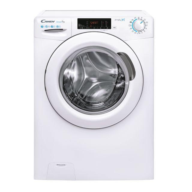 Iš priekio įkraunama skalbimo mašina CSO4 1075TE/1-S