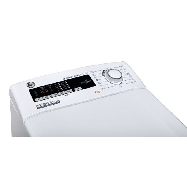 Toppmatade tvättmaskiner H3TM 28TACE/1-S