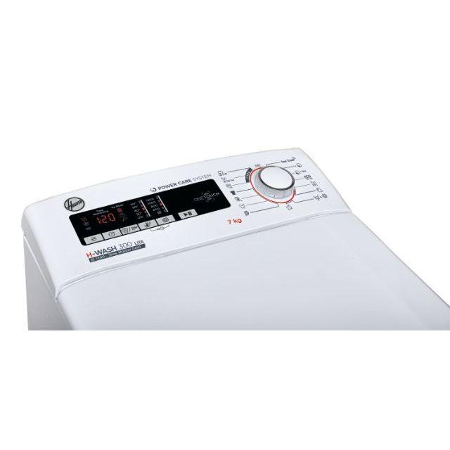 Iš viršaus pakraunamos skalbimo mašinos H3TM 27TACE/1-S