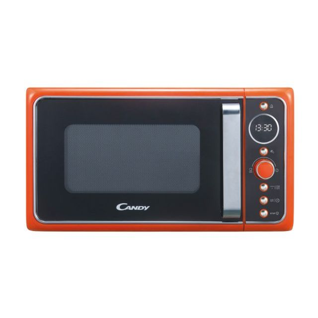 Libera installazione, Microonde+ funzione grill, 20 litri, Arancione, L x P x A (mm) 452x335x262