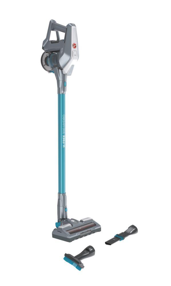 Hoover 39400956 Grigio Blu H-Free 300 Hydro Doppia Azione di Pulizia ASPIRA E LAVA CONTEMPORANEAMENTE