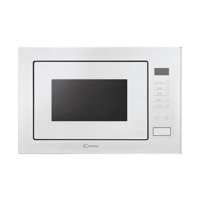 Encastrado Microondas + Función grill, 25 litros, Blanco, A x P x A (mm) 595x388x401