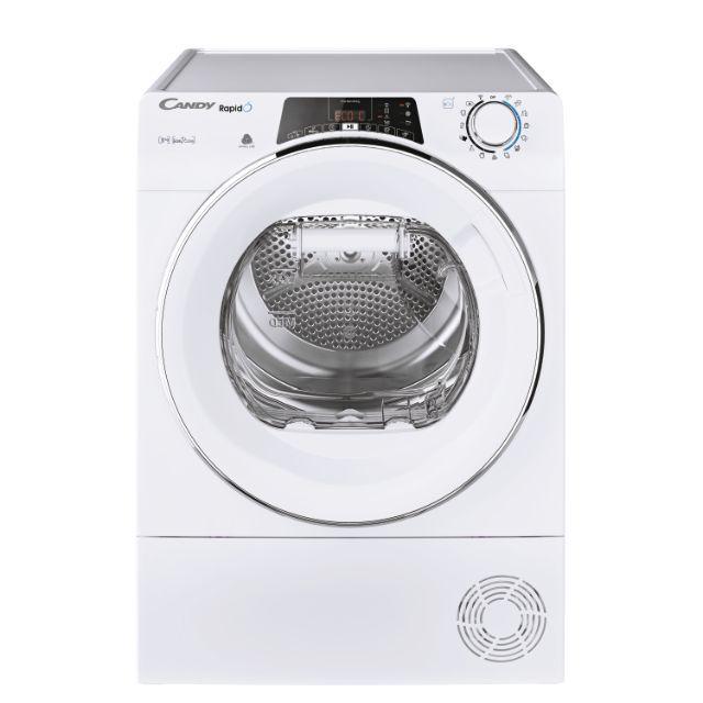 Libera installazione Pompa di calore, 8 Kg, Classe A++, Bianco