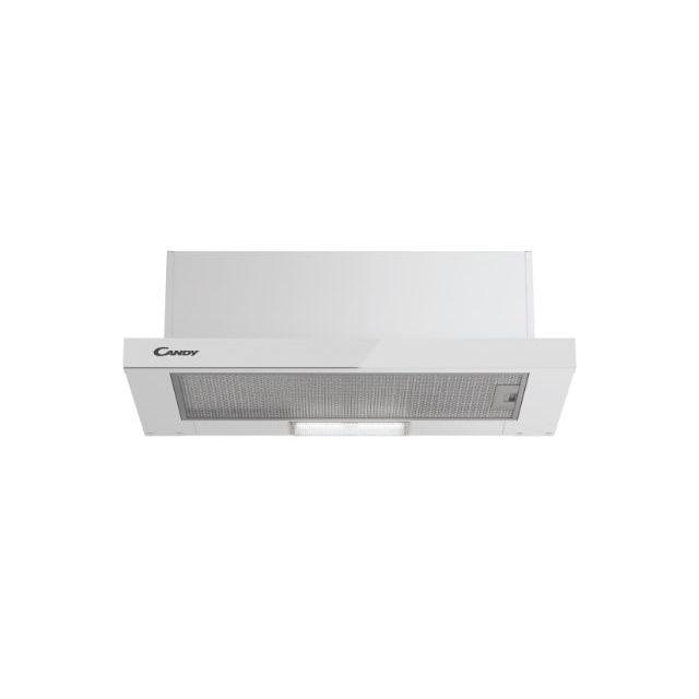 Встраиваемая Интегрированные/ Телескопические, Белый, LED, aluminium