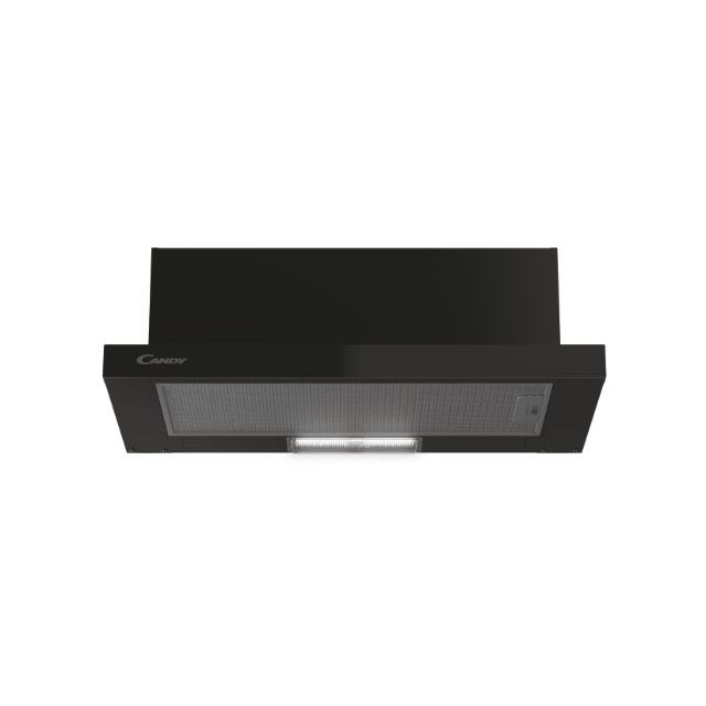 Встраиваемая Интегрированные/ Телескопические, Черный, LED, inox